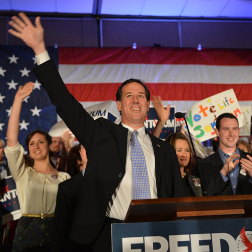 Rick Santorum Drops Out of Presidential Race