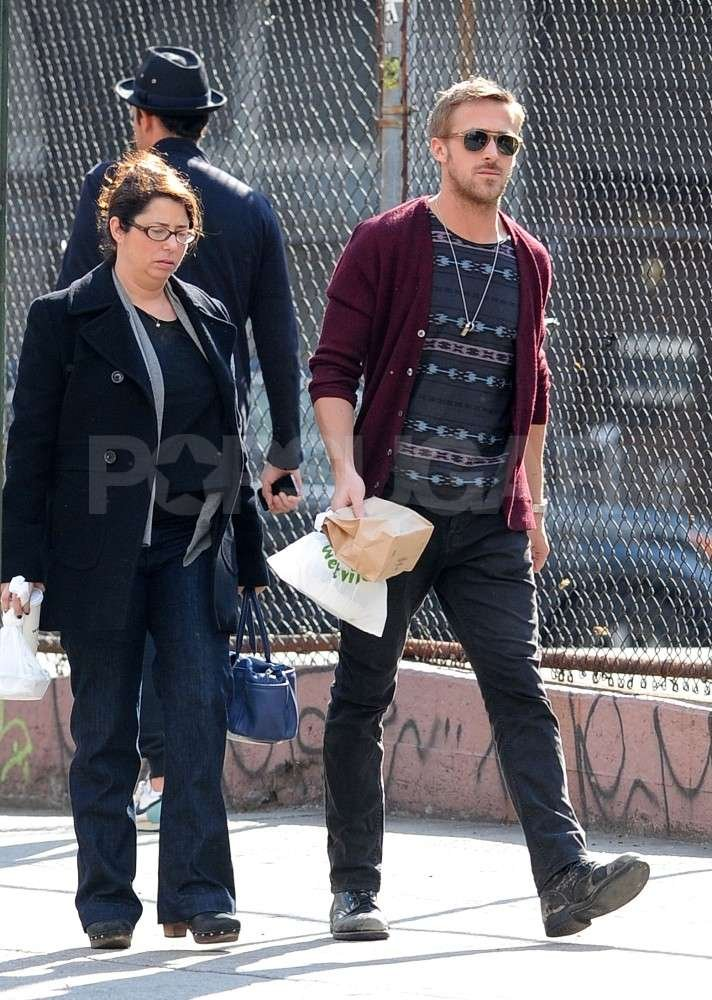 Ryan Gosling went out to lunch in NYC.