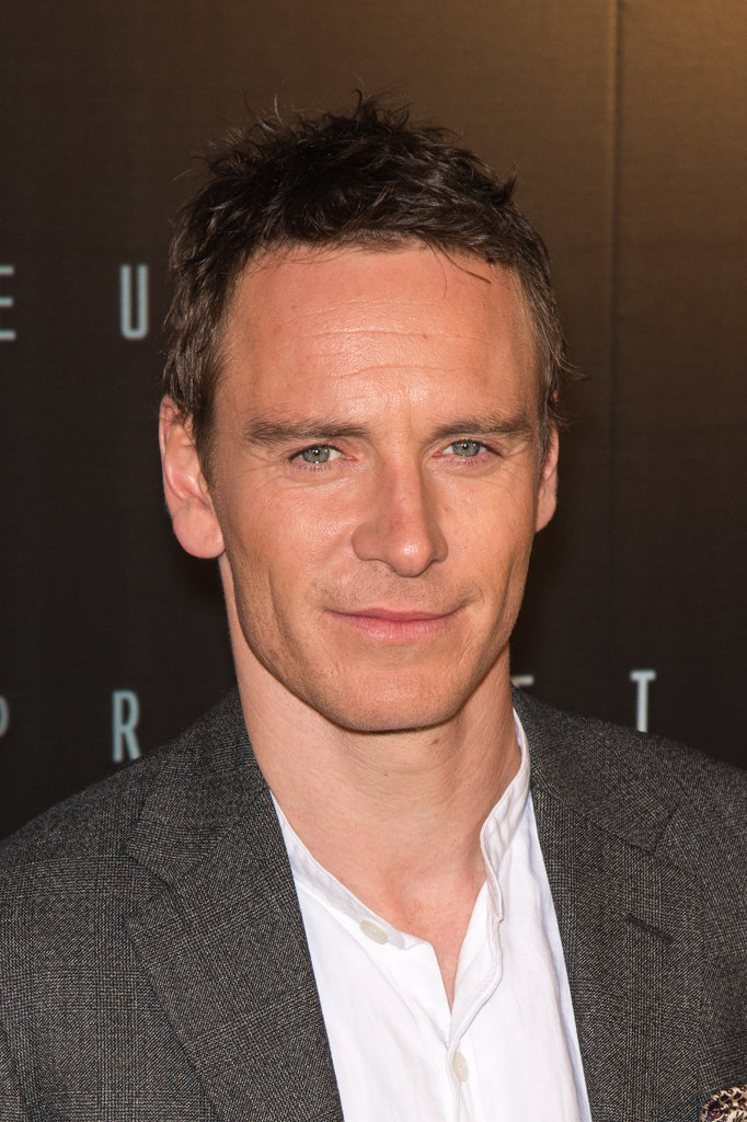 Michael Fassbender at the Prometheus premiere in Paris.