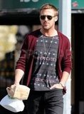 Ryan Gosling out and about in NYC.