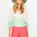 We love both the bright hue and the lacy detail — perfect for festival season with a flowy top and pretty flat sandals.