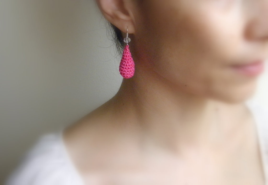 Romantic and super elegant, we think these rose-colored crochet earrings add a polished touch to any ensemble. Pink Drop Earrings ($24)