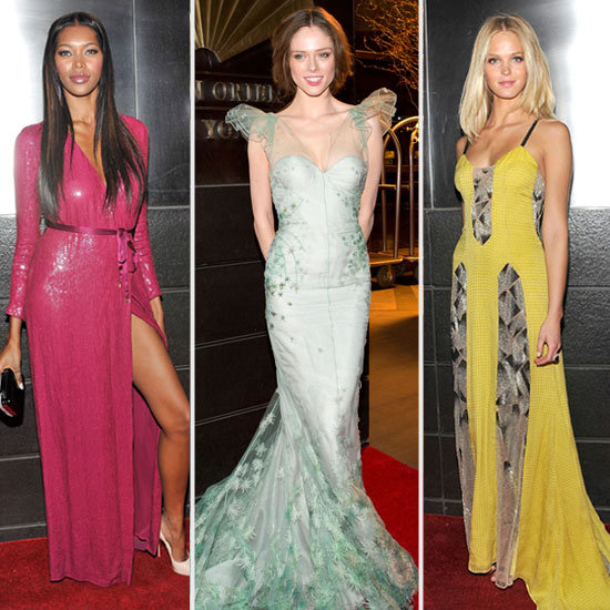 Models at 9th Annual Spring Dinner Dance NYC