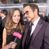 Robert Downey Jr & Susan Video Interview Avengers Premiere