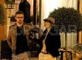 Justin Timberlake and Jessica Biel took a stroll after a romantic meal while vacationing in Europe together.