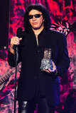 Gene Simmons at the Revolver Golden God Awards in LA.