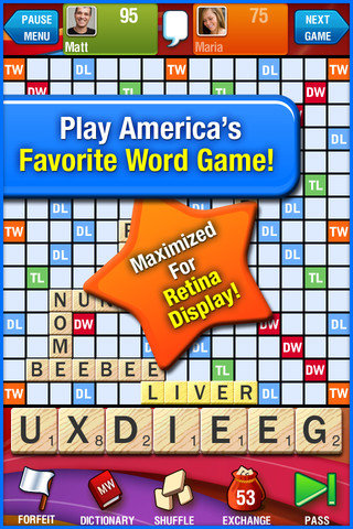 Scrabble For iOS ($2)