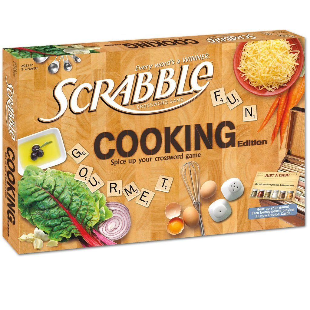 Cooking Scrabble ($23)