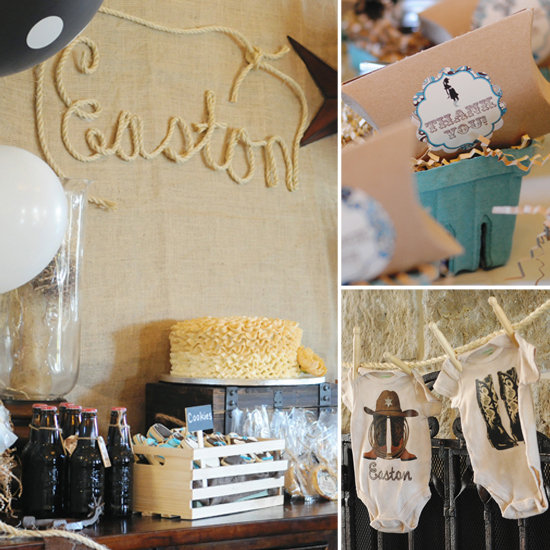 western baby shower decorations best baby decoration