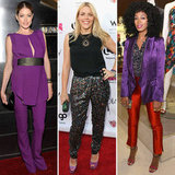 5 Stylish Celebs Inspire Us to Add Purple to Our Closets