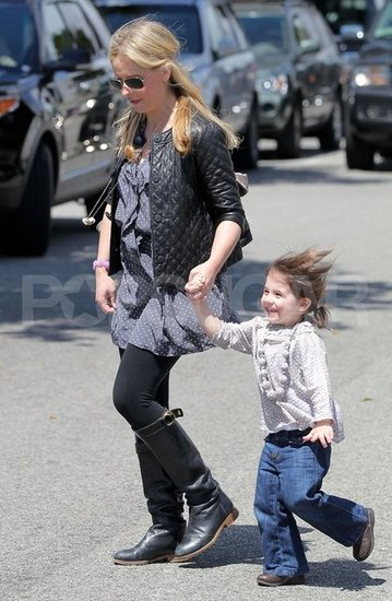 Sarah Michelle Gellar Spends a Sweet Day With Smiley Charlotte