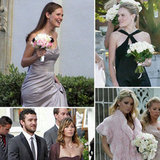 Pop rounded up pictures of our favorite stars walking down the aisle as bridesmaids.