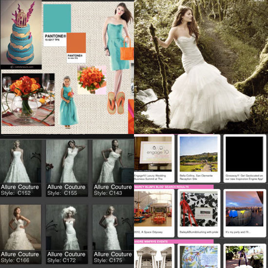 Get your creative juices flowing with Geek's wedding iPad app picks.