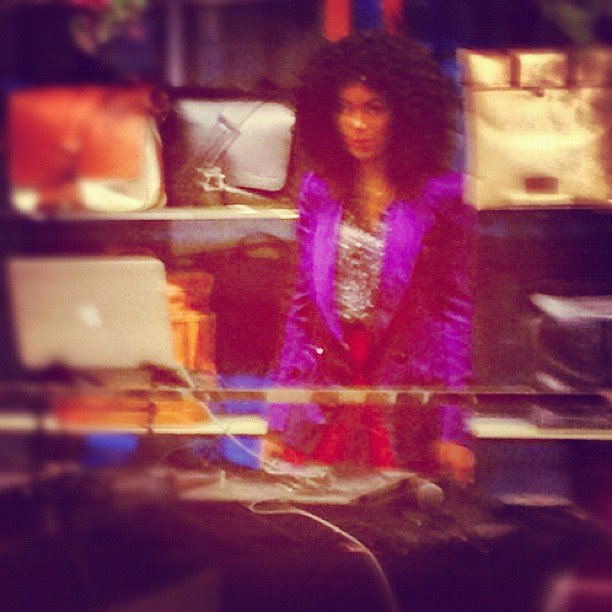 We spy Solange Knowles DJing at the Ferragamo flagship reopening party in NYC.