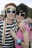This cool couple donned shades at the Hard Rock Calling Festival in London.