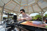 Elijah Wood deejayed at Lacoste Live!'s Coachella bash in 2012.