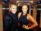 Josh Flinn and Paula Joye are sticking to black for the Logies red carpet.