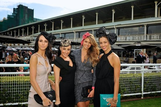Jana Petterson, Terry Biviano, Jesinta Campbell &amp; Lynette Bolton