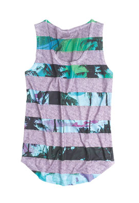 Delia's Palm Striped Tank ($20)