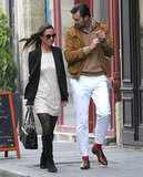 Pippa Middleton and Arthur de Soultrait walked in Paris.