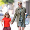 Michelle Williams With Matilda in Brooklyn Pictures