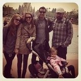 Jessica Alba and Cash Warren visitied Disneyland Tokyo with friends. Source: Instagram User TheRealJessicaAlba