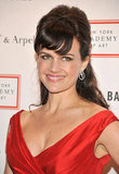 Carla Gugino smiled at the 2012 Tribeca Ball in NYC.
