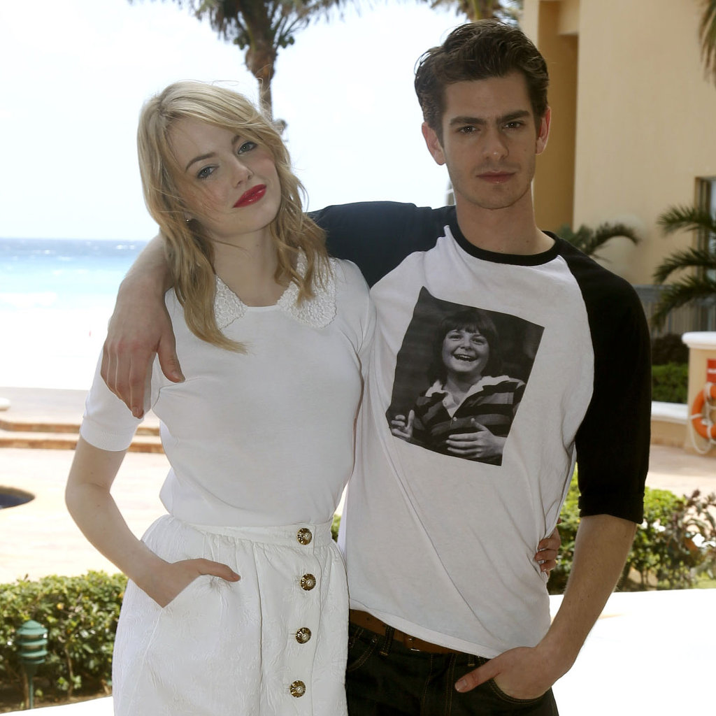 Andrew Garfield Instagram - Viewing Gallery Emma Stone Instagram