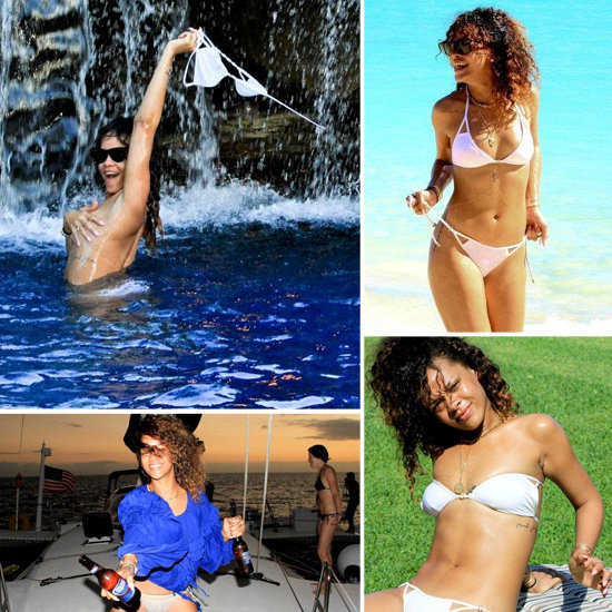 Rihanna Dons a Bikini — and Goes Topless — in New Vacation Pictures