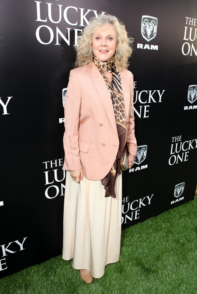 Blythe Danner attended The Lucky One premiere in LA.