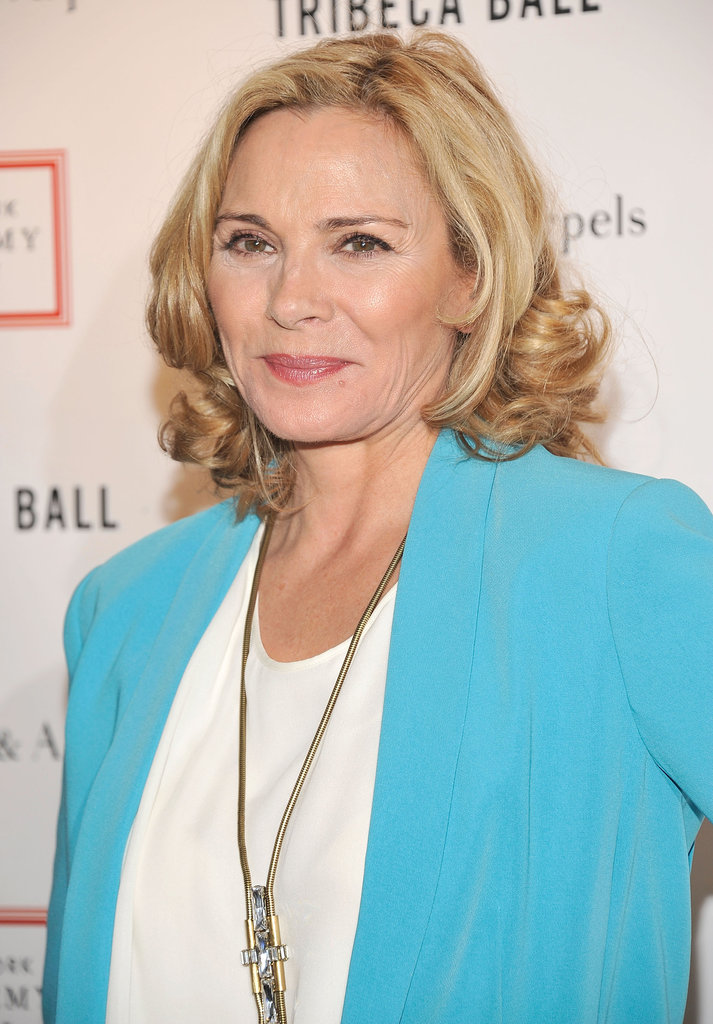 Kim Cattrall attended the 2012 Tribeca Ball in NYC.