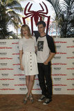 Emma Stone and Andrew Garfield promoted The Amazing Spider-Man in Cancun.