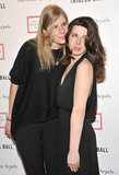 Caroline Murphy and Heather Matarazzo posed together at the 2012 Tribeca Ball in NYC.