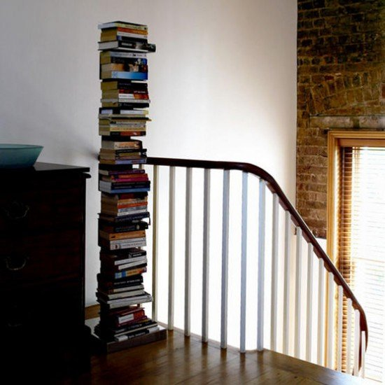 Drop the Clunky Bookshelves
