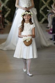 Oscar de la Renta Flower Girls