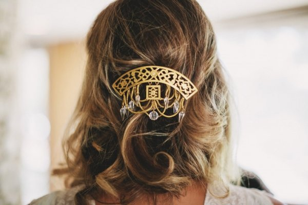 Gold Hairpiece
