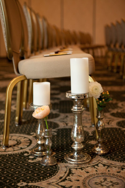 Candlestick Ceremony Decor