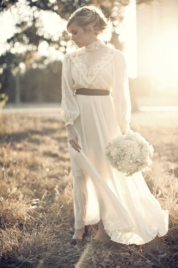 A Romantic Lace Dress