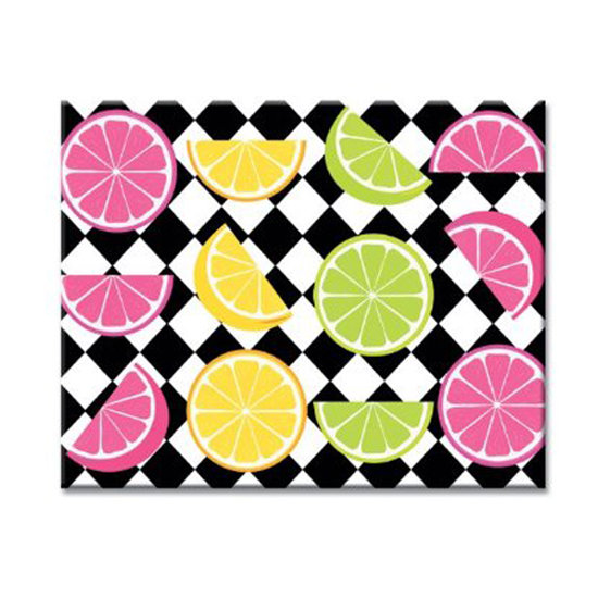CounterArt Bright Citrus Cutting Board