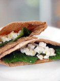 Mint and Feta Pita Pocket
