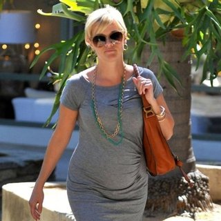 Reese Witherspoon Gray Dress