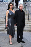 Catherine Zeta-Jones and Michael Douglas attended the Vanity Fair Party at the 2012 Tribeca Film Festival.