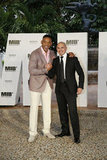 Will Smith and Pitbull hung out together at the Summer of Sony Event.