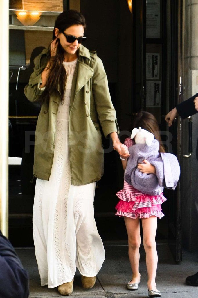 Katie Holmes and Suri Cruise were out and about in honor of Suri's 6th birthday.