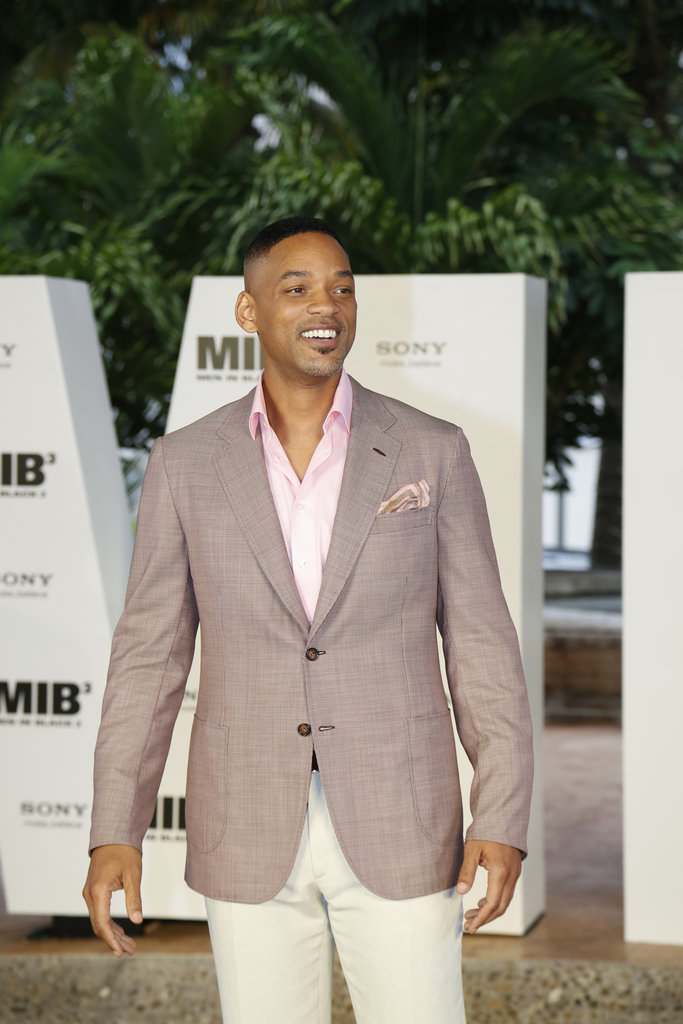 Will Smith looked dapper as he arrived in Cancun, Mexico for the Summer of Sony Event.