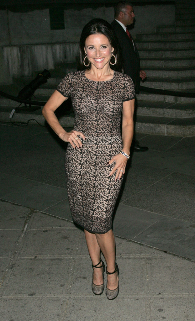 Julia Louis-Dreyfus attended the Vanity Fair bash to kick off the 2012 Tribeca Film Festival.