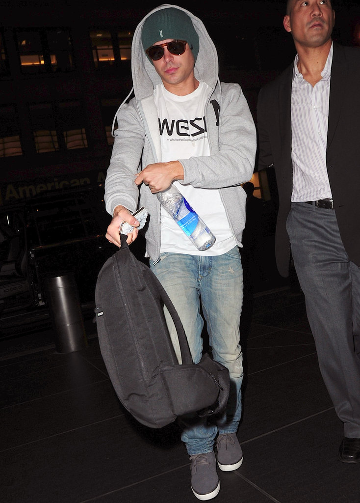 Zac Efron wore WeSC gear.