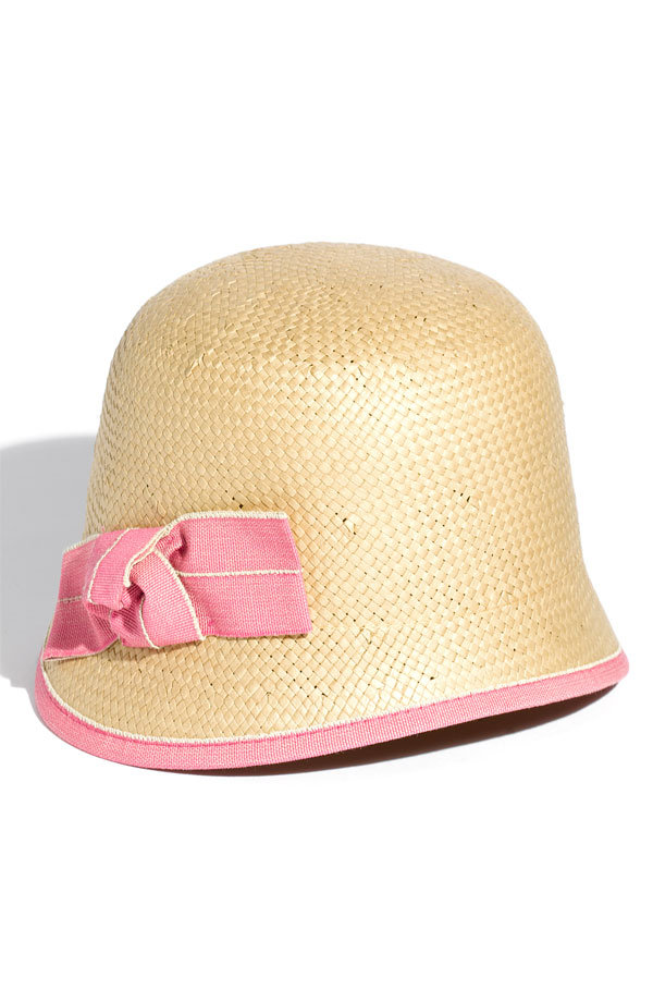 Feeling this Spring's 1920s flashback? Add to your drop-waist and fringe shopping list with this cloche hat. The pink bow detail is so sweet, too. Tarnish Short Brim Cloche ($38)
