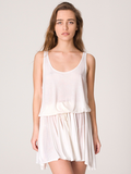 This casual, slouchy tank dress is super versatile —pair with strappy gladiator sandals and a crossbody bag for day, or wedge heels and dangly earrings for night. American Apparel Drawstring Tank Dress ($12)