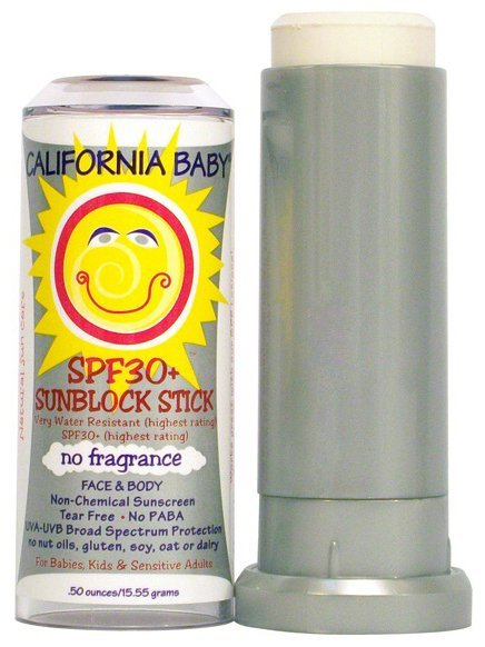 California Baby SPF 30+ Sunblock Stick ($15)